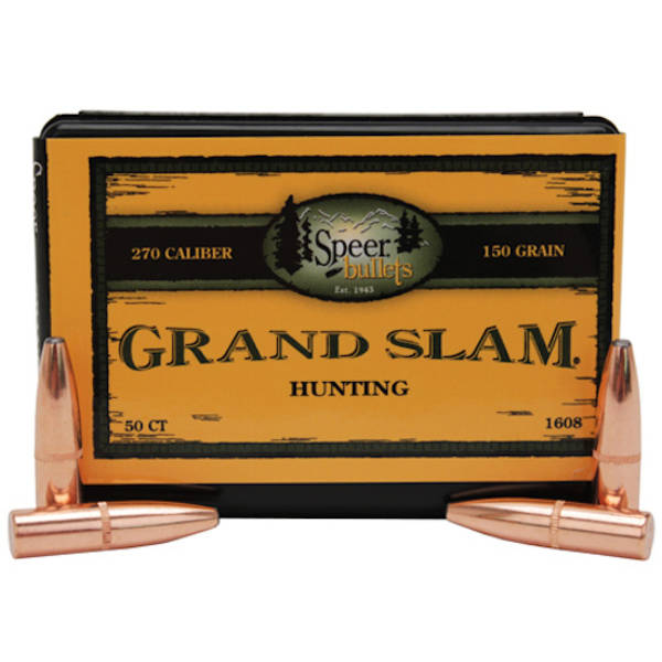 Speer Grand Slam  270 150grain 1608