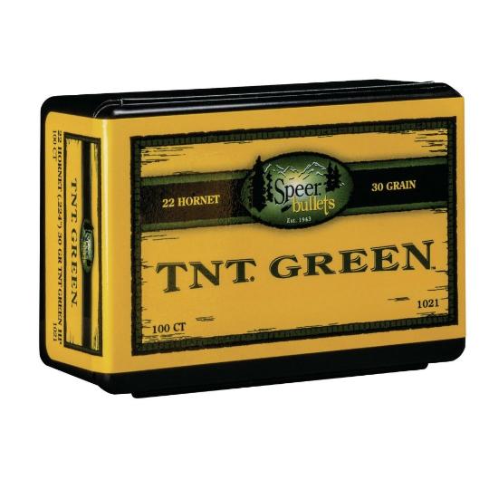 Speer 224 30gr TNT Green (100 box) #1021