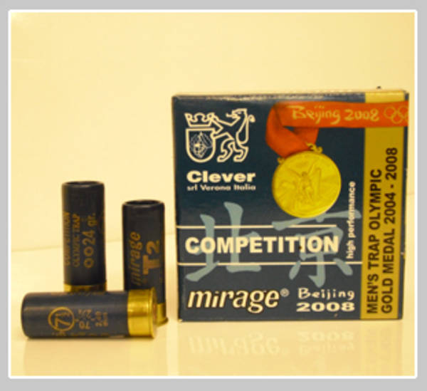 12ga Clever Mirage Competition T2 28gr #9 Shot