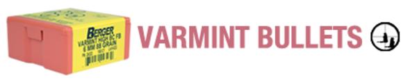 Berger 17cal 25gr Flat Base Varmint x200
