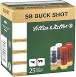 """S&B 12ga 00 Buckshot 2 3/4"""" x25"""