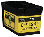 Speer 9mm 124gr .355 TMJ RNBox 600