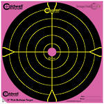 "Caldwell Orange Peel Pink 12"" Bullseye Targets 5 Pack"