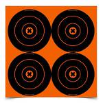 "Birchwood Casey Big Burst 6"" Bull's Eye Revealing target"