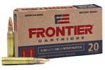 Hornady Frontier Ammunition 5.56 Nato 68gr BTHP x20