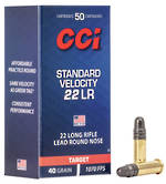 CCI Standard Velocity 22LR Lead Round Nose 500 Rounds