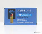 PPU Rifleline 308 Win 180gr SP 20 Rounds