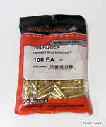 Winchester Brass .204 Ruger x100 PCS