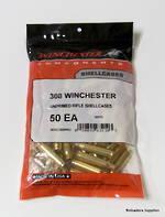 Winchester Brass .308 Win x50 PCS