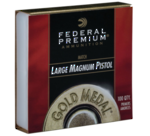 Federal Large Pistol Magnum Gold Medal Match GM155M x1000