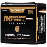 Speer Impact 30cal 172gr x50 #TB308H1