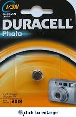 Duracell DL-1/3N Lithium Battery