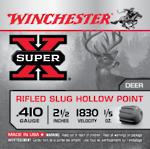 Winchester 410 Rifled Slugs 5 Rounds