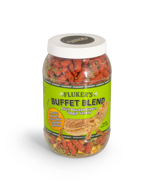 Fluker's Bearded Dragon Buffet Blend Veggie Adult