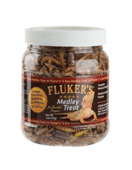 Fluker's  Freeze Dried Medley Treat Bearded Dragon