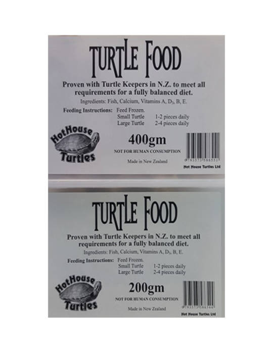 Hot House Turtle Food