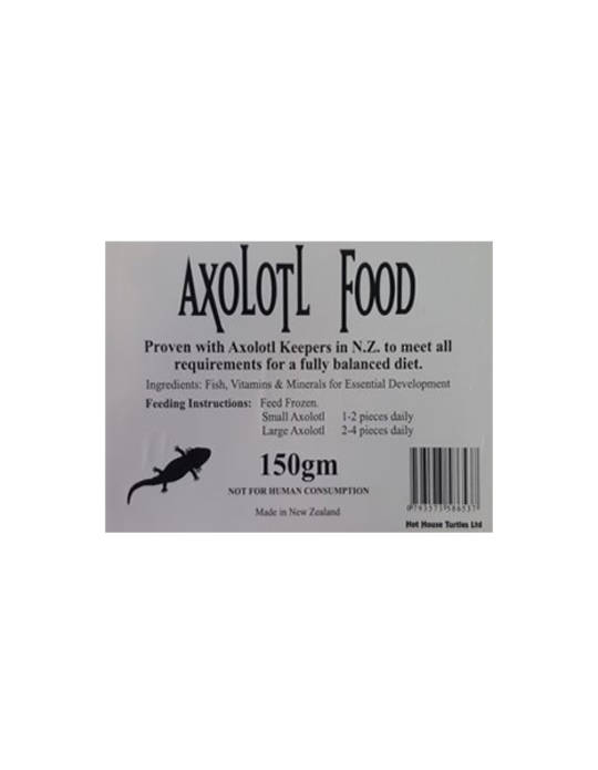 Hot House Turtle Axolotl Food 150gm