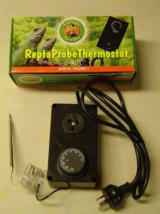Repta Pet Thermostat with a Stainless Steel Probe