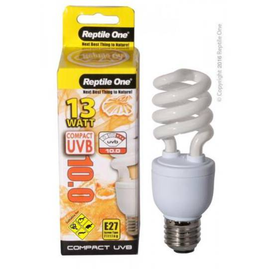 Reptile One Bulb Compact UVB 10.0 26W E27 Fitting