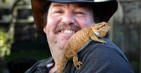 Graeme & Donna have had reptiles for many years now