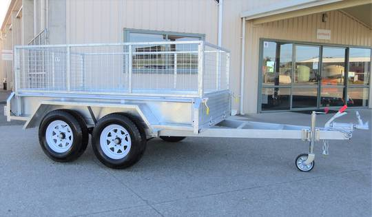 Safari 8x5 Tandem Axle Box Trailer Incl 600mm Cage