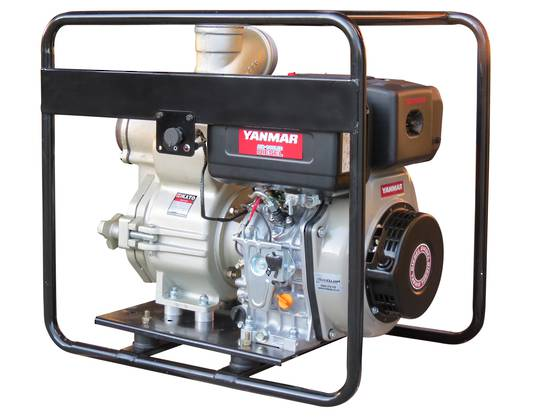 "4"" Yanmar Powered Full Trash Pump Electric Start"