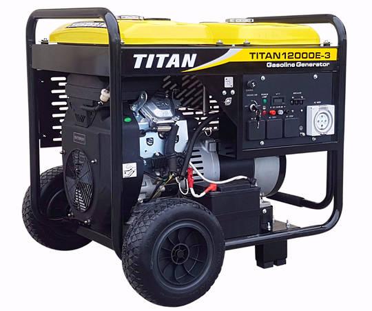 Titan 12000E-3 11kW Petrol Generator 3 phase