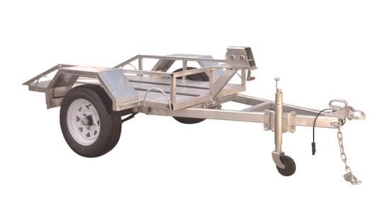 Safari Easy Load Plate Compactor Trailer