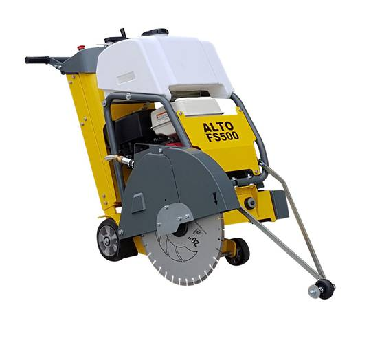 Alto FS500 Concrete Floor Saw - FREE Diamond Blade!!
