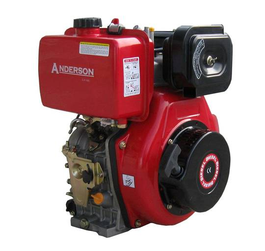 Anderson LA178F 6.7HP Diesel Engine Electric Start