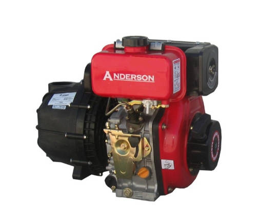 "2"" Anderson Powered Poly Pump Viton"