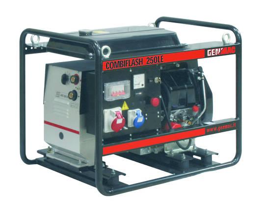 GENMAC Kohler Diesel Powered Welder/Generator 250amp 8.8kVA