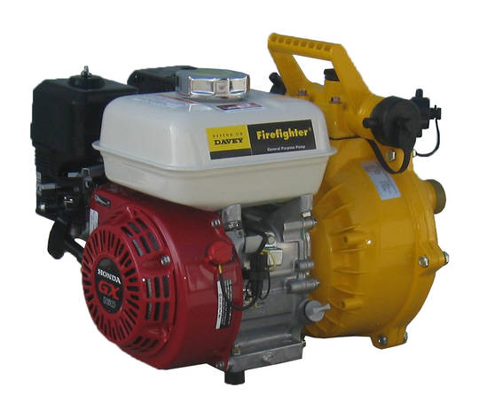 "Davey 1½"" Firefighter Honda GX160 Powered Pump 5155H"