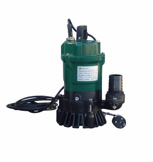 "2"" Reid Drainvac 750 Semi-Vortex Drainage Submersible Pump - No Float Switch"