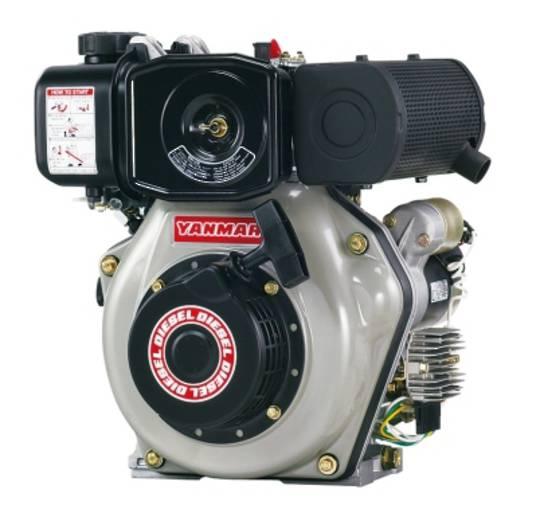 Yanmar L48N 4.7hp Diesel Engine Electric Start