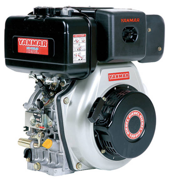 Yanmar L70N 6.7hp Diesel Engine Electric Start
