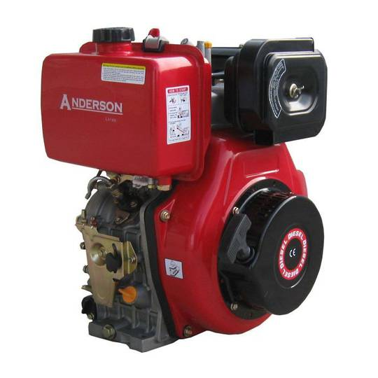 Anderson LA186F 10HP Diesel Engine Electric Start