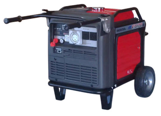 Honda EU70is Inverter Generator, Wireless Remote Start, 32amp socket