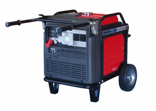 Honda EU70is Inverter Generator, 2 Wire auto-start, 32amp socket