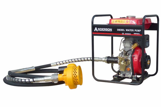 "Anderson Diesel 2"" Flexi-Drive Pump Electric Start"