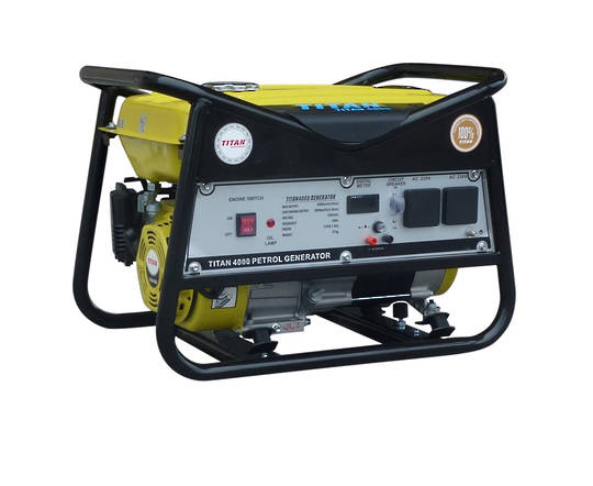 Titan 2700 2.3kW Petrol Generator
