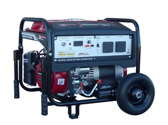 Genpac 3800E 3.2kW Honda Powered Generator