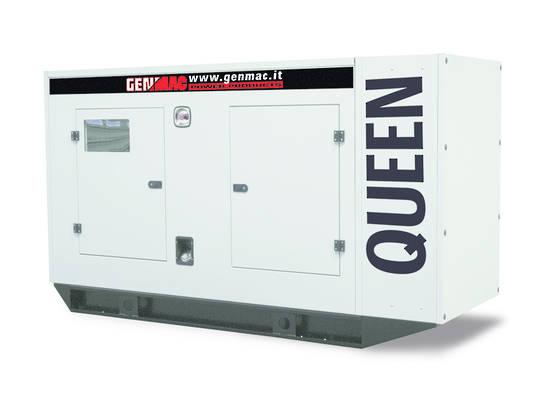 Genmac Perkins Powered Queen G100PS Generator 100kVA Silenced