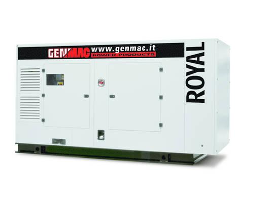 Genmac Perkins Powered Royal G180PS Generator 180kVA Silenced