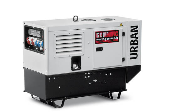 Genmac Yanmar Powered G15000YS Generator 14.9kVA Silenced 400v