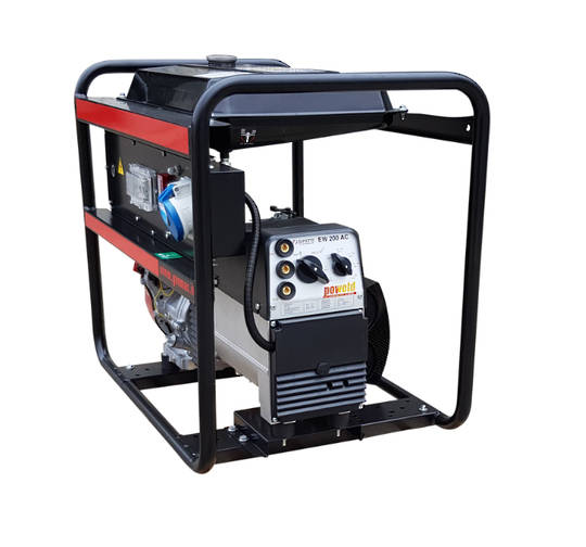 GENMAC Honda Powered Welder/Generator 200amp 7kVA