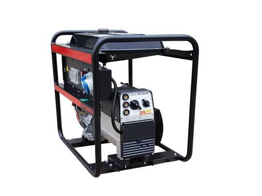 GENMAC Kohler Diesel Powered Welder/Generator 180amp 6.1kVA