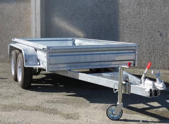 Safari 10x5 Tandem Axle Box Trailer Incl Cage