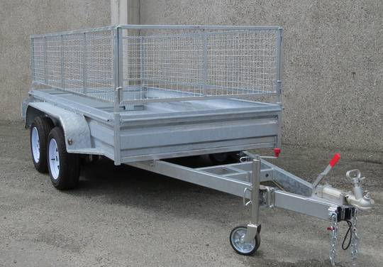 Safari 10x5 Tandem Axle Box Trailer Incl Cage