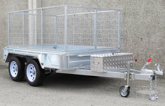 Safari 8x5 Tandem Axle Box Trailer Incl 900mm Cage